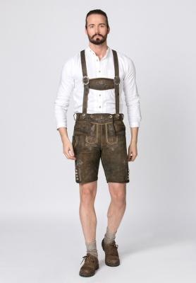 Férfi ruhák | Férfi népviseleti valódi bőr cipő 1224 schwarz
